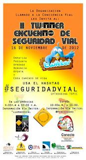 II TWITTER ENCUENTRO de #SeguridadVial