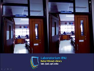 Gambar 4: Pintu masuk laboratorium