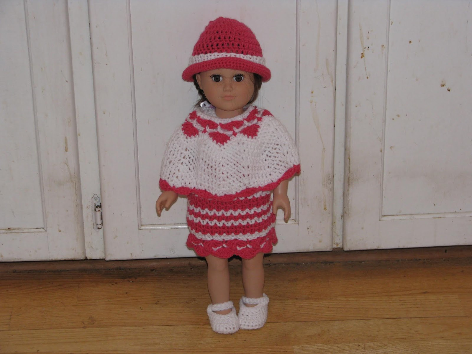 Summer-time dress for 18 Dolls