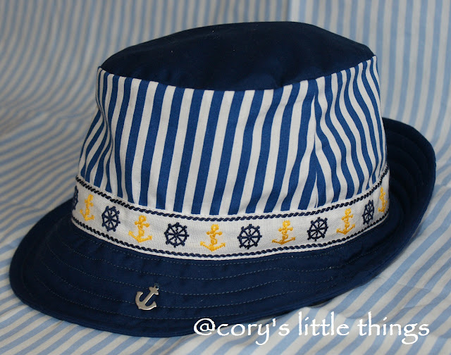"""The Little Sailor "" sunhat"""