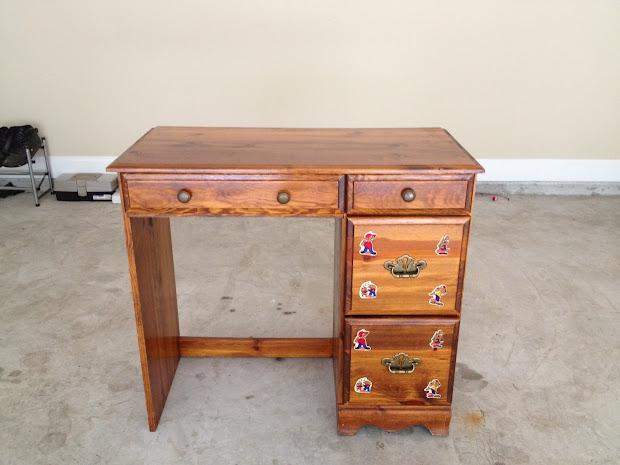 Vanity Desk Closet