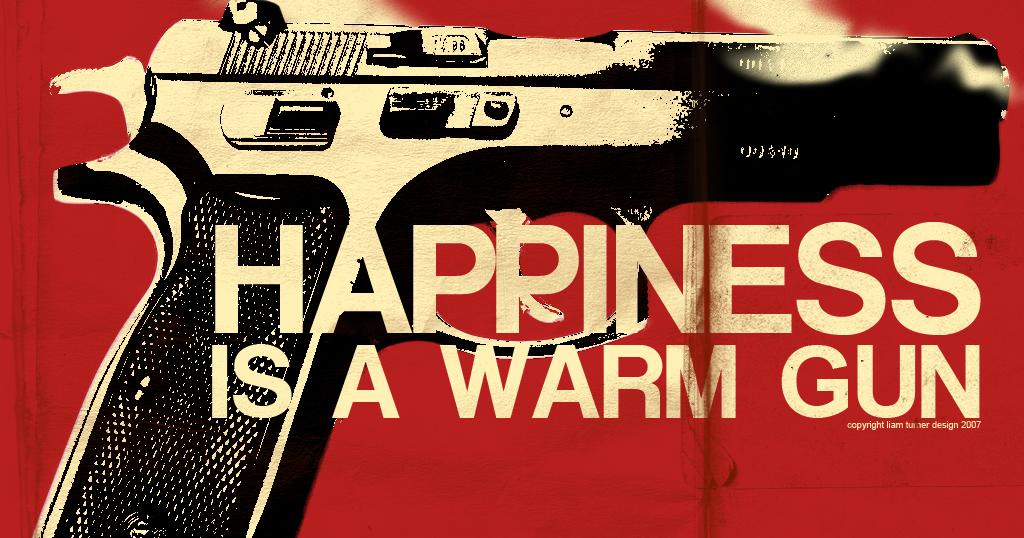 The Beatles Happiness Is A Warm Gun Chords Lyrics Kunci Gitar
