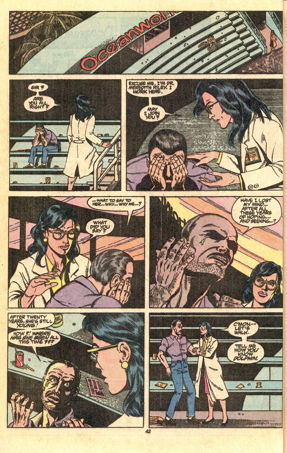 Read online Secret Origins (1986) comic -  Issue #50 - 44