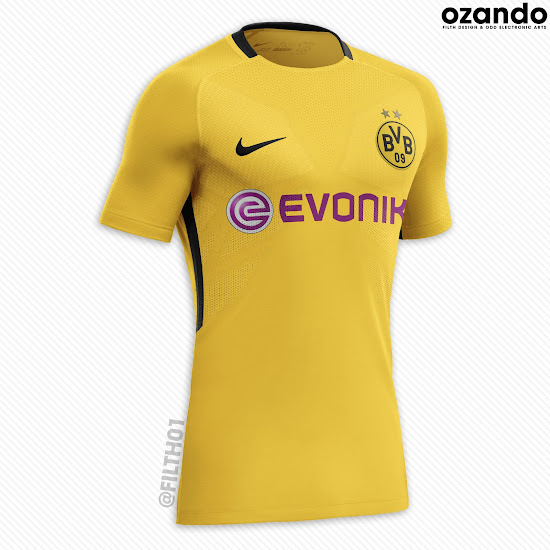 outlet store 1260c 34b8e Bayern München and Borussia Dortmund Nike Concept Kits by ...