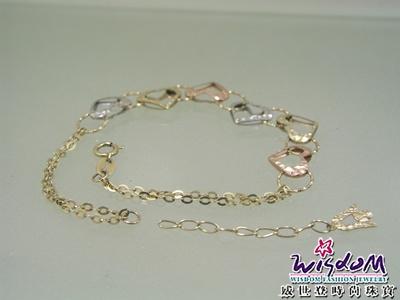 珠寶訂做達人 - 愛心手鍊斷修 | 威世登時尚珠寶