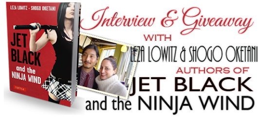 Interview & Giveaway with Leza Lowitz & Shogo Oketani, authors of Jet Black and the Ninja Wind