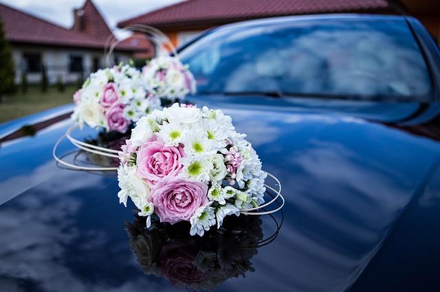 hoa xe rước dâu đẹp nhất