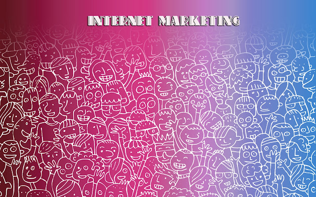 internet marketing wallpaper