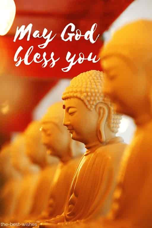 lord buddha may god bless you