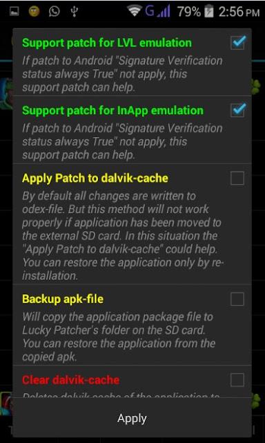 تحميل برنامج lucky patcher مجانا 2018