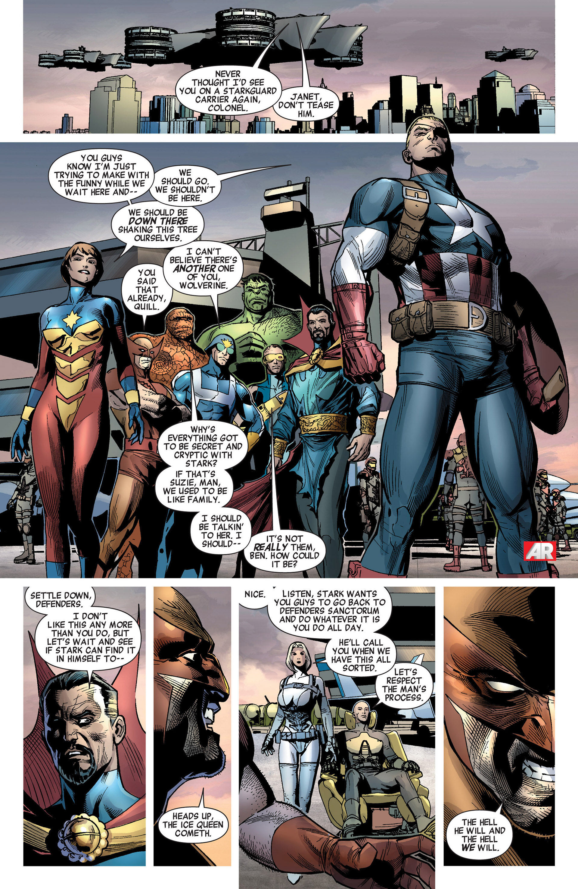 Read online Age of Ultron comic -  Issue #8 - 9
