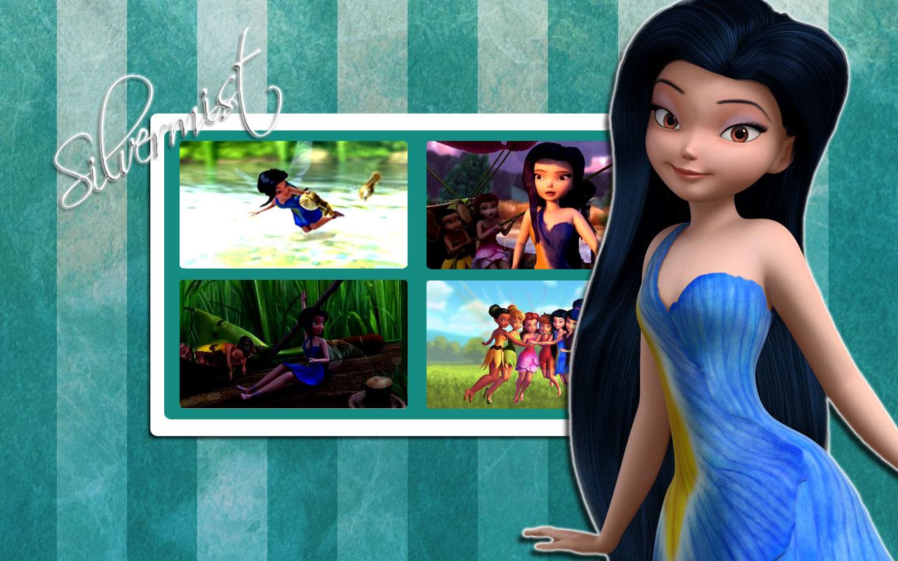 Cartoon Tattoo Pictures  Disney Fairies  U0026quot  Silvermist  U0026quot  Characters Wallpaper