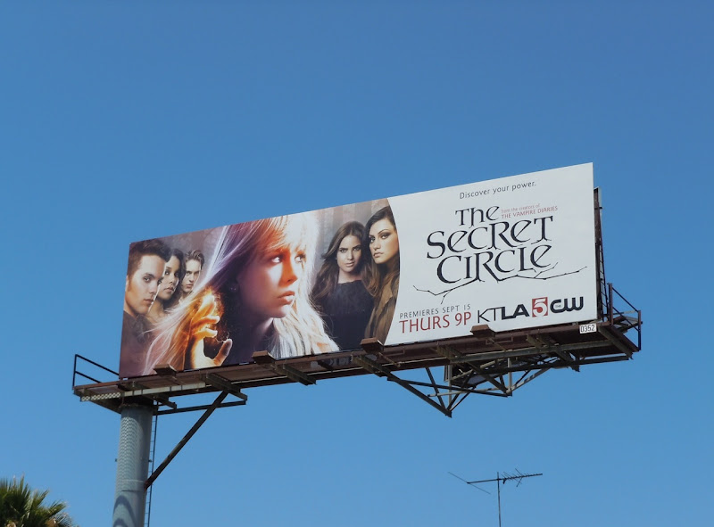 Secret Circle TV billboard