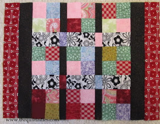 Red Table Topper Quilt Pattern for YOU !