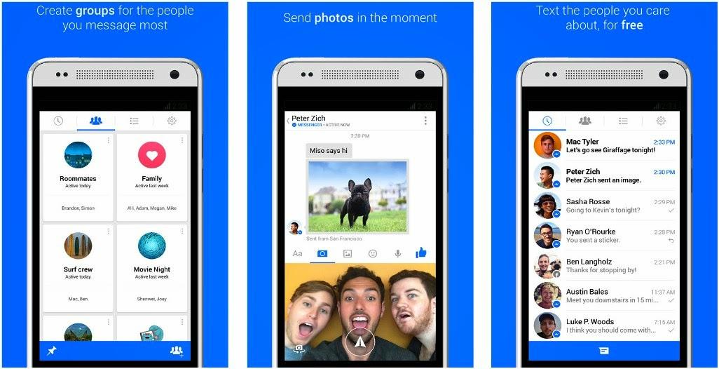 download facebook b messenger apk old version