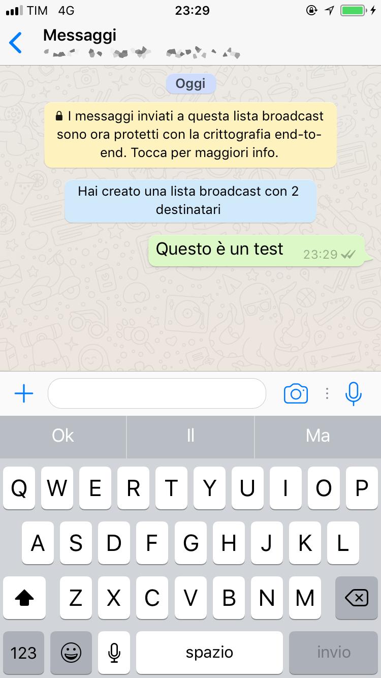 Connu Come farsi pubblicità con Whatsapp: l'invio messaggi broadcast  XK05
