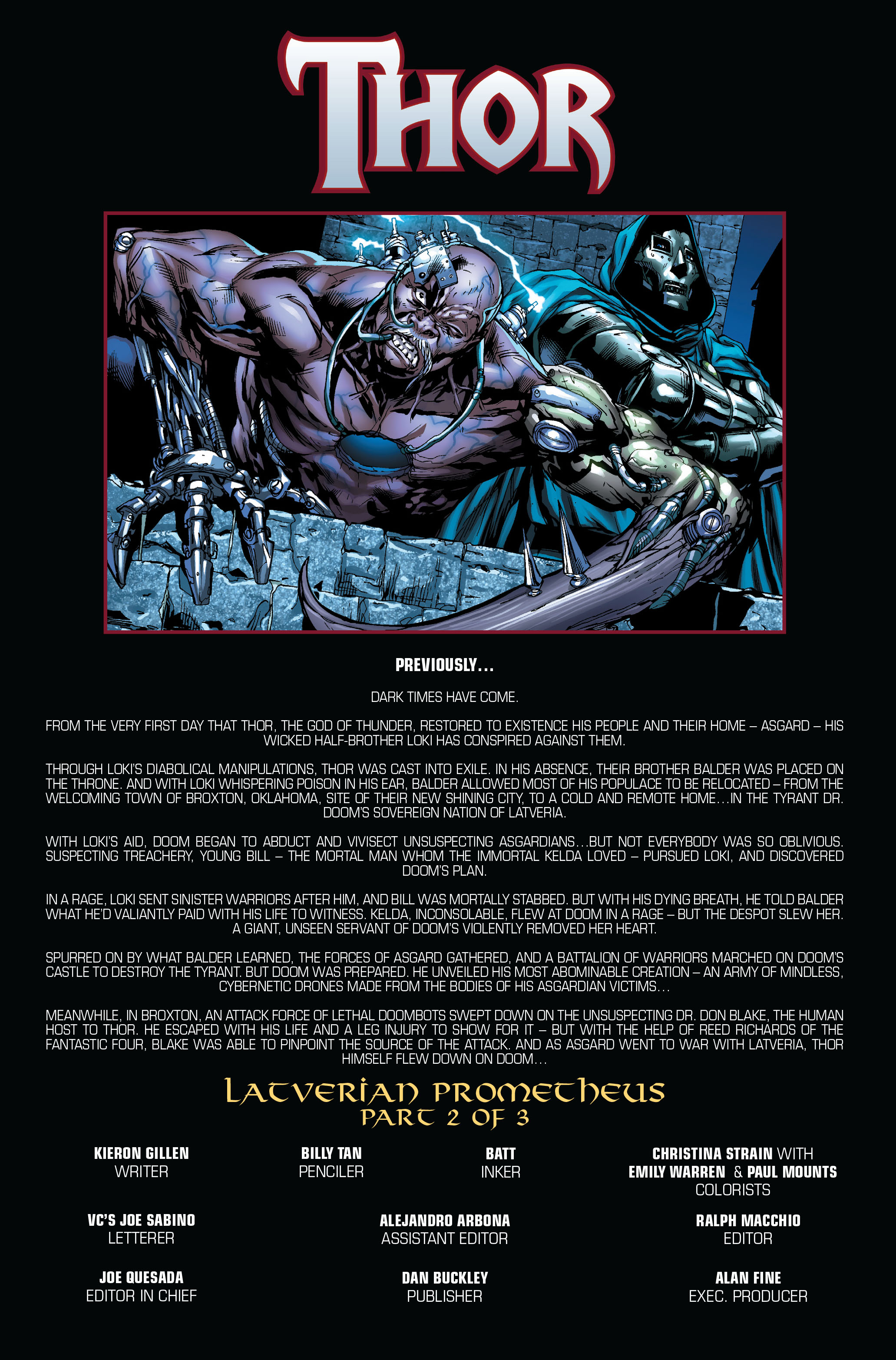 Thor (2007) Issue #605 #18 - English 2