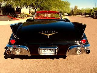 1957 Cadillac Eldorado Biarritz Convertible Rear