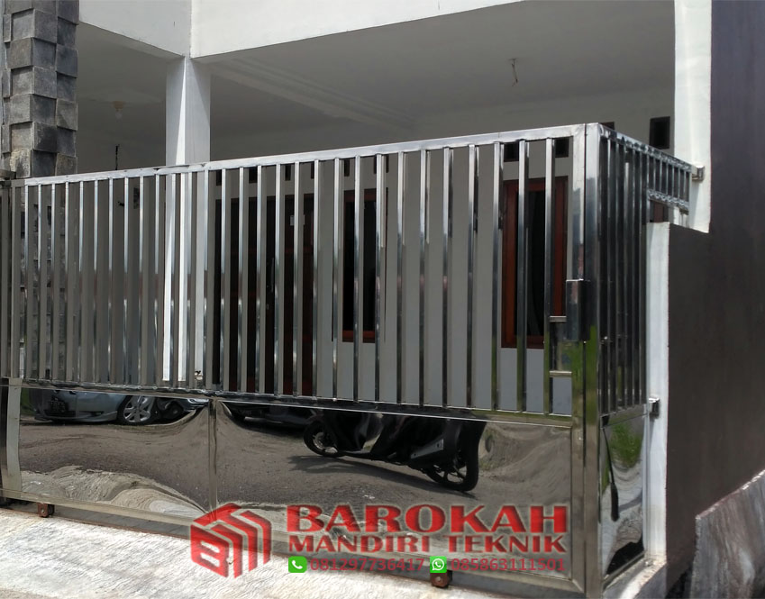 JASA PEMBUATAN PAGAR STAINLESS JAKARTA 081297736417 | Barokah Mandiri  Teknik I Info 081297736417
