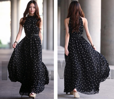 model baju long dress terbaru