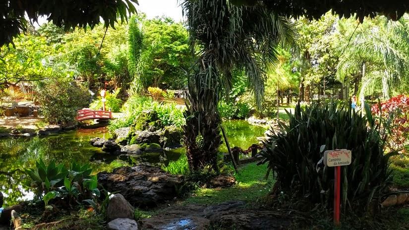 O que fazer em Caldas Novas e Rio Quente - Jardim Japonês