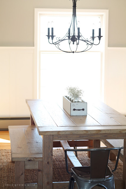 Free farmhouse table plans