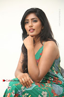 Actress Eesha Latest Pos in Green Floral Jumpsuit at Darshakudu Movie Teaser Launch .COM 0168.JPG