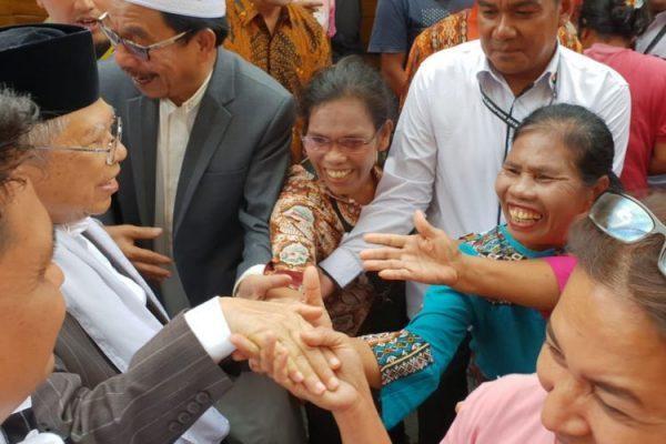 Kerap Dicium Pendukung saat Bersafari, Kyai Ma'ruf: Jadi Lebih Semangat Lagi