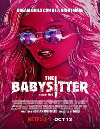 Watch Online The Babysitter 2017 720P HD x264 Free Download Via High Speed One Click Direct Single Links At WorldFree4u.Com