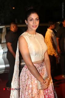 Actress Lavanya Tripati Stills in Beautiful Dress at Gemini TV Puraskaralu 2016 Event  0067.JPG