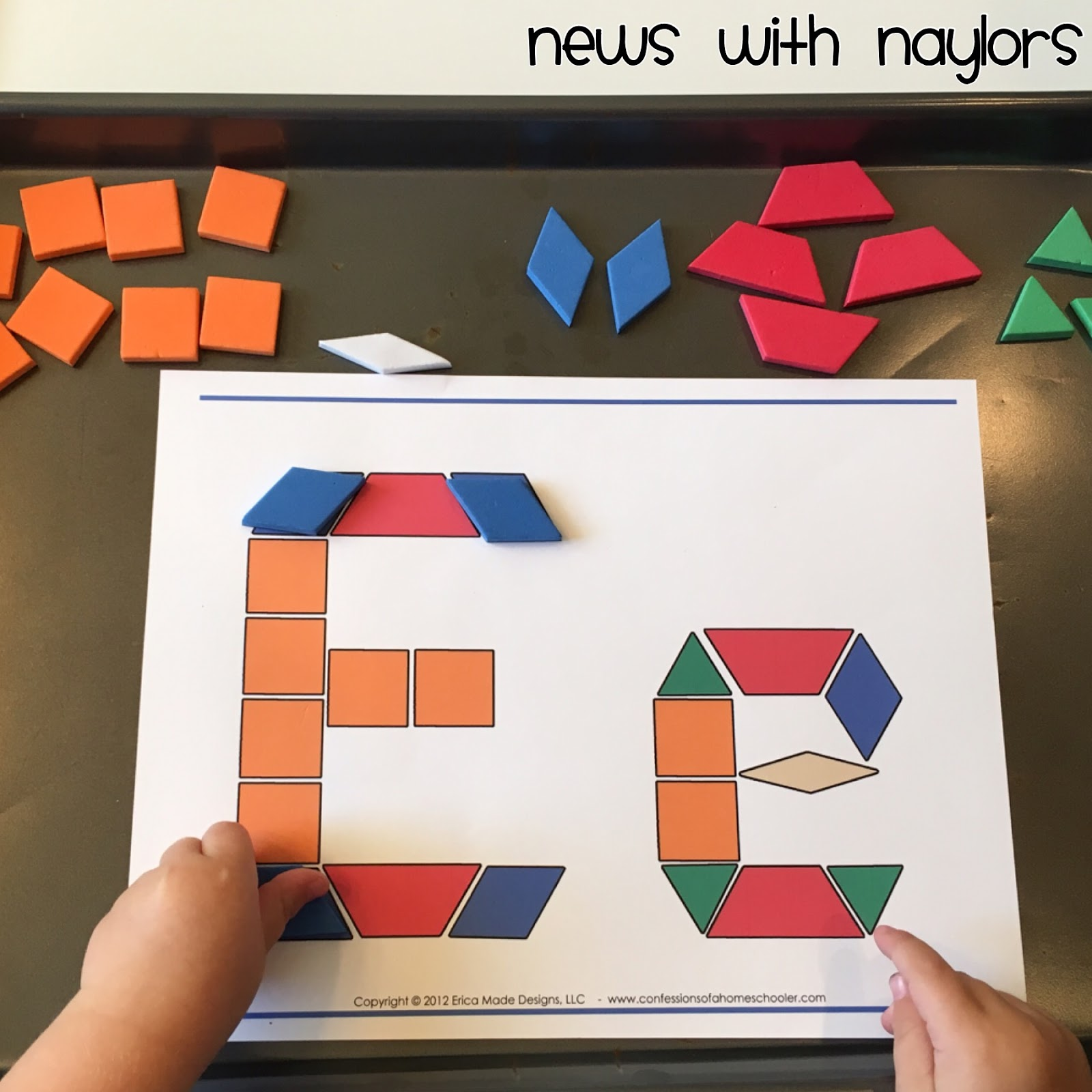 News With Naylors Letter E Letter Of The Week Age