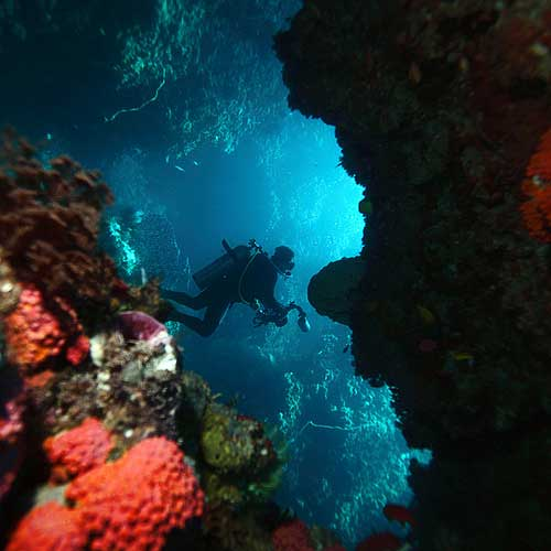 Gua Bawah Laut Hukurila Di Pulau Ambon