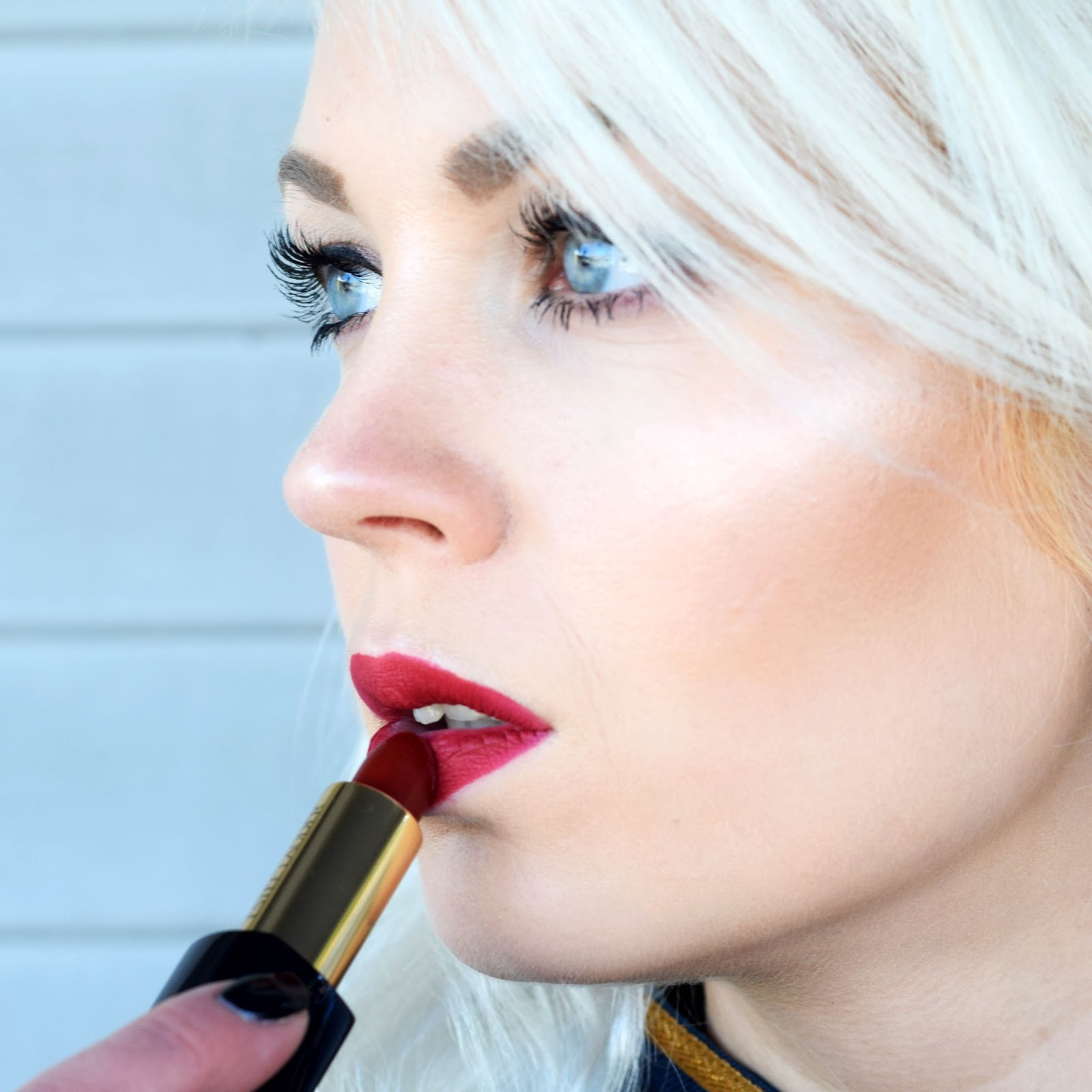 Pure Color Envy matte sculpting lipstick in irrepressible review