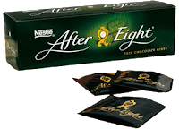 After Eight: 35 calorias cada