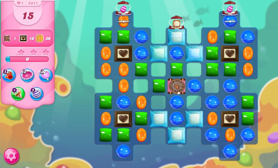 Candy Crush Saga level 5311