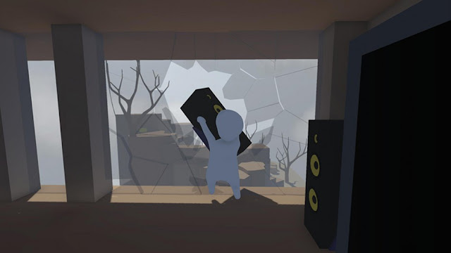 Human: Fall Flat indie game on PC