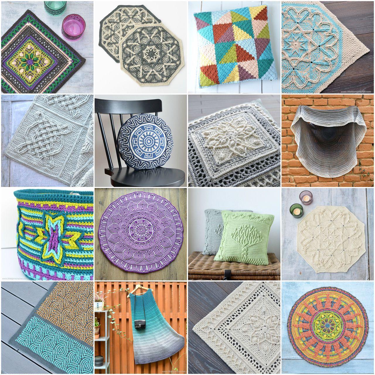 Overlay crochet design by www.lillabjorncrochet.com