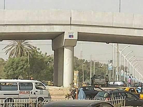 Image result for Ado Bayero bridge