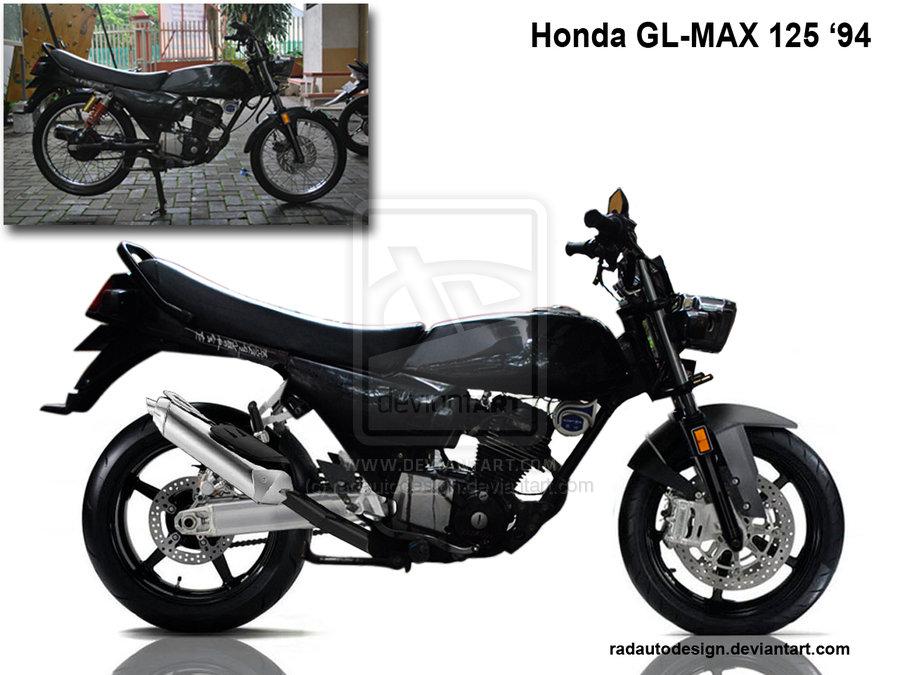 Otomotif Bike: Contoh Modifikasi Honda GL Max 125