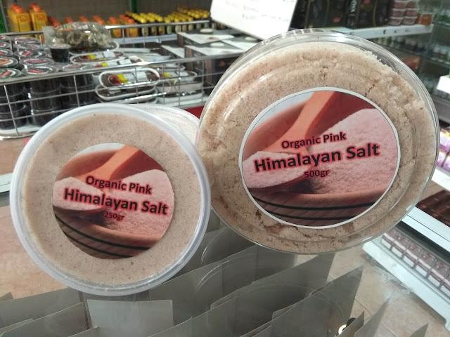 Organic Pink Himalayan Salt Garam Himalaya Halus