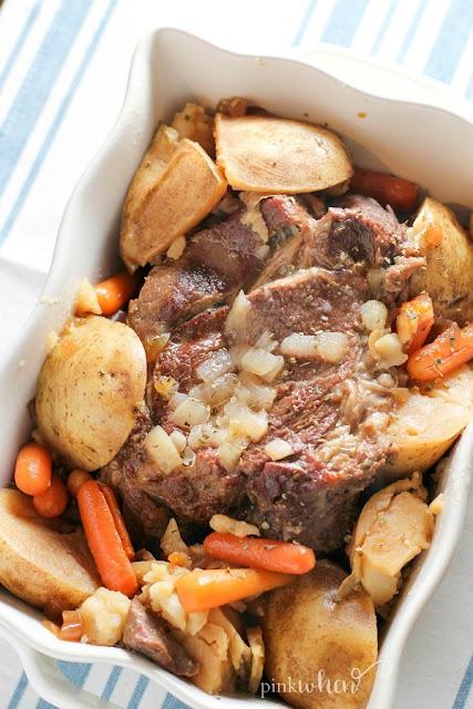 instant pot pressure cooker pot roast