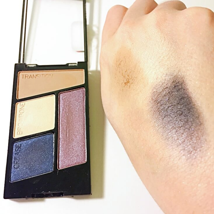 wet n wild color icon Eyeshadow Quad Mythicool Creatures swatch