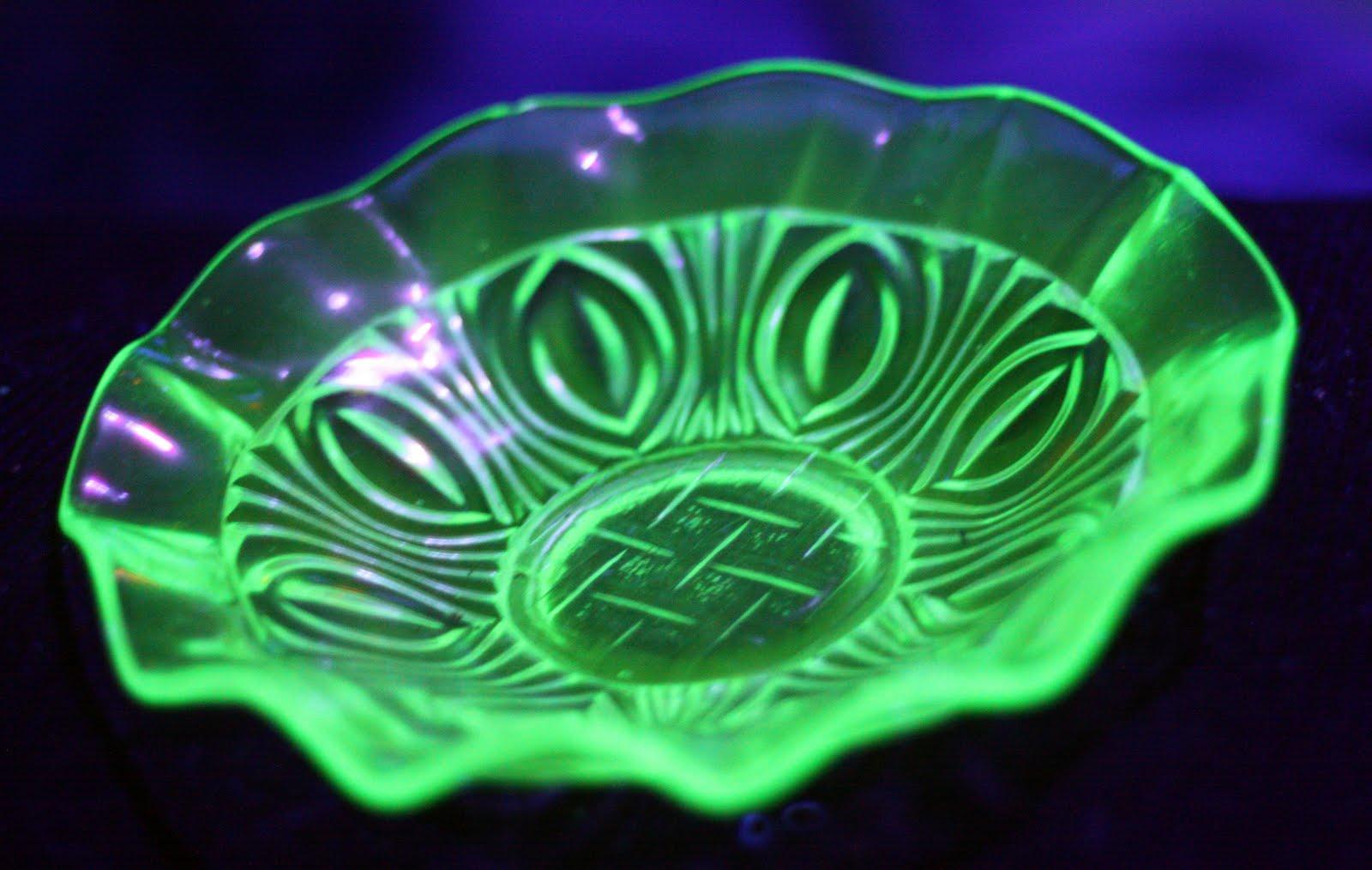 Hello Vintage Uranium Glass Glow