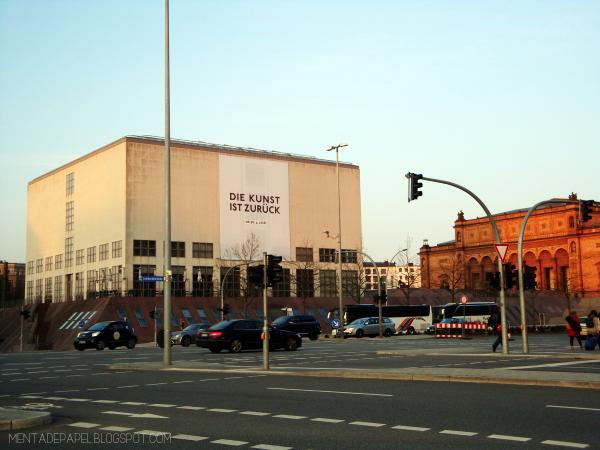El Hamburger Kunsthalle desde el Außenlaster