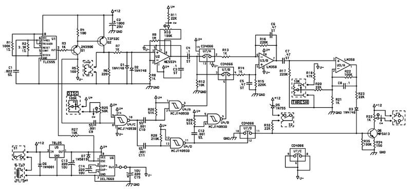 heathkit groundtrack gr 1290 vlf search coil diagram pictures