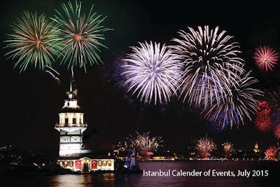 Istanbul Calender Of Events JULY 2015