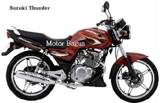 Harga motor Thunder bekas terbaru