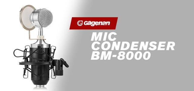 MIC Youtuber Murah BM8000