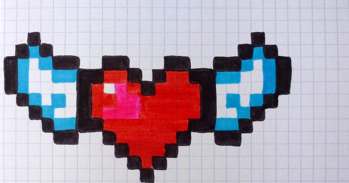 Les Créas De Valma Mes Dessins Pixels Janvier 2017