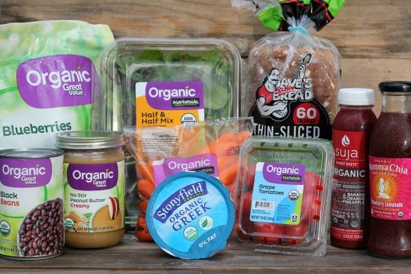Organic food from Walmart